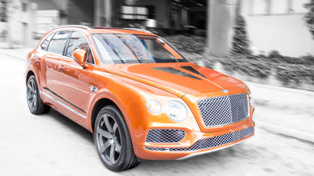 The Bentley X Princess Yachts Continental Gt Convertible Galene