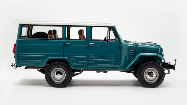 The FJ Company 1964 FJ45 Land Cruiser - Green 15408- Studio_002