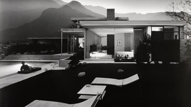 Julius Shulman (1910-2009); Kaufman House, Richard Neutra, Palm Springs, California
