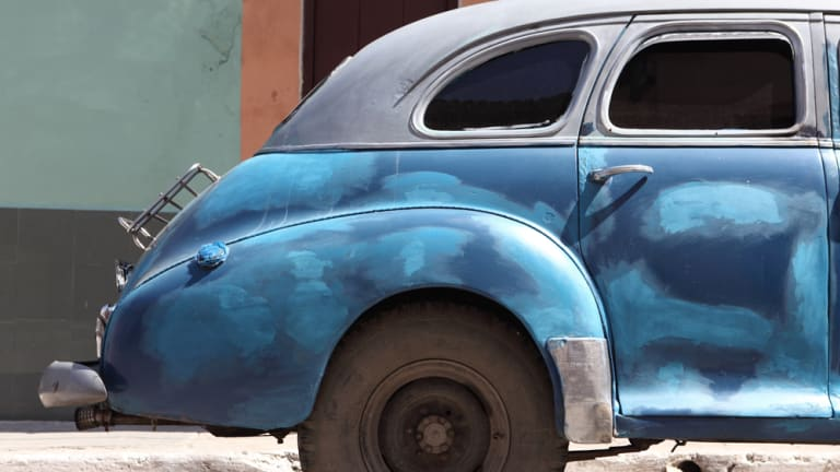 25 Photos Of Cuban Cars Frozen In Time