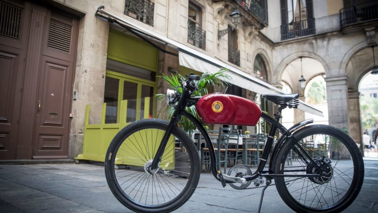 These Stylish Electric Bicycles Are Inspired By Classic Café Racers