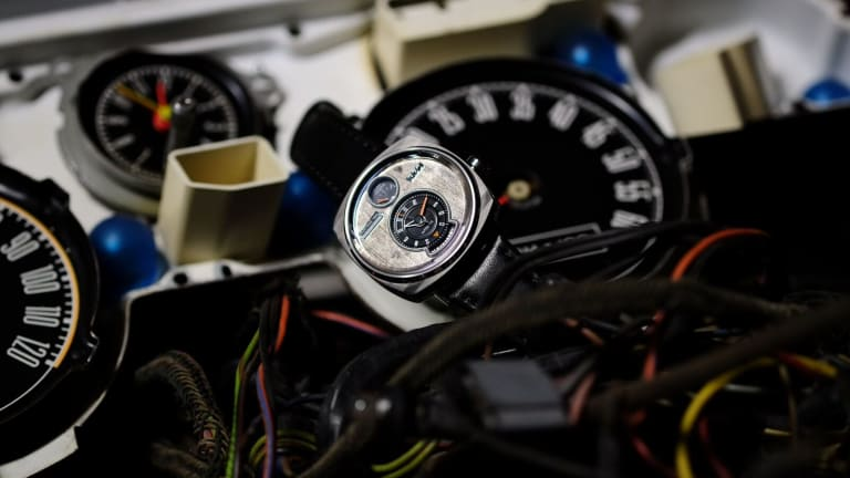 Stunning Watches Made From Recycled Classic Cars