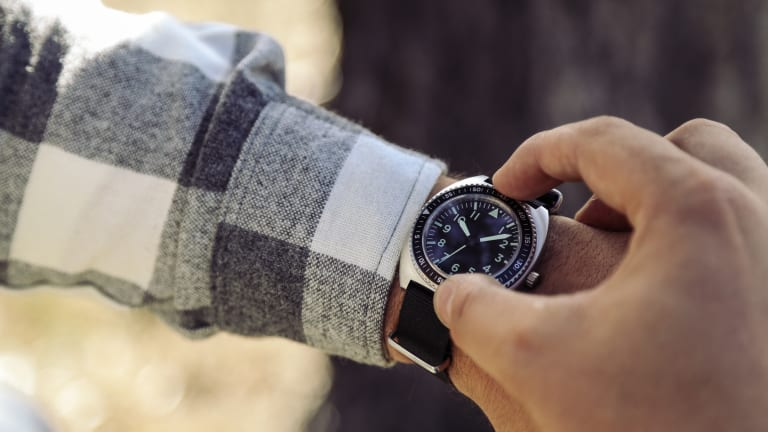 Cool Pilot Watch Inspired By The Special Forces Timepieces Of The '60s And '70s