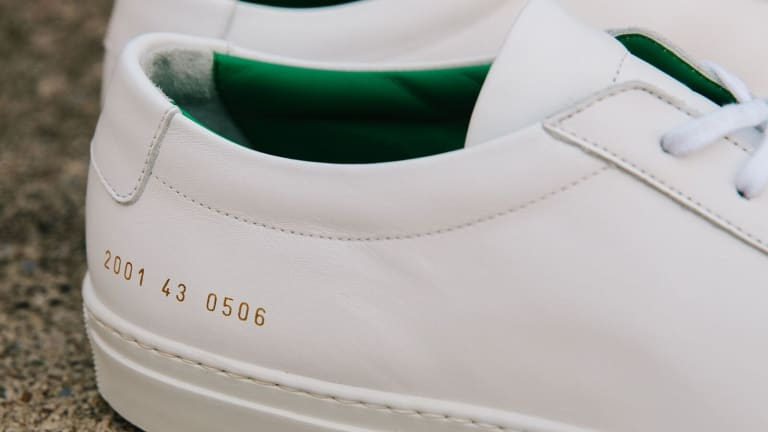 Unis x Common Projects Special Edition Sneakers Are Dripping With Cool