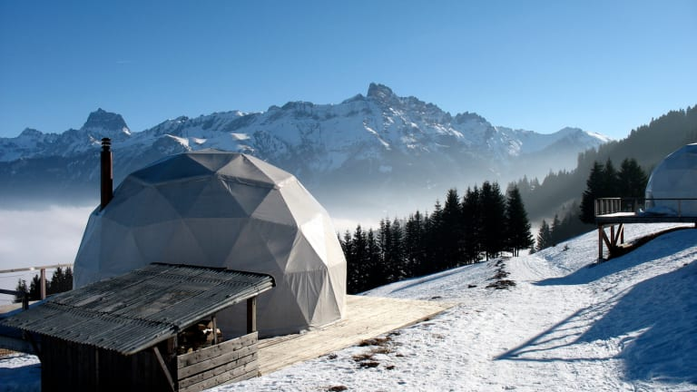 Amazing Eco-Luxury Hotel In Switzerland