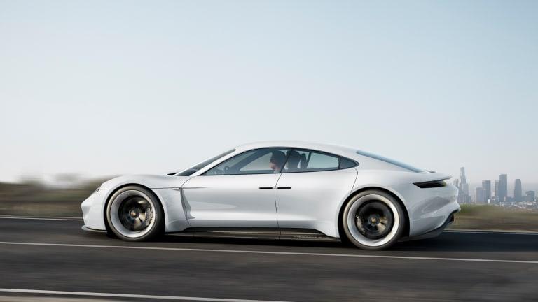 A Closer Look At Porsche's All-Electric Tesla Killer