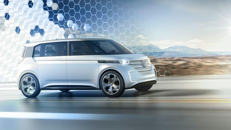 A Closer Look At Volkswagen's All-Electric Surfer Van