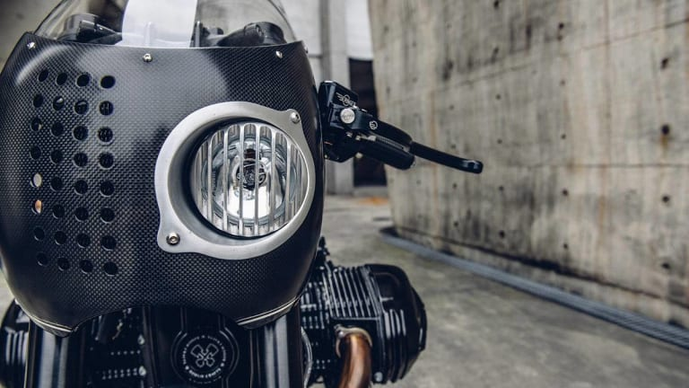 Batman's Custom BMW Motorcycle