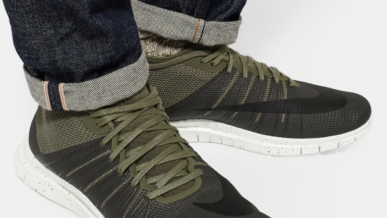 Asymmetric Nike Sneakers Inspired By Soccer Cleats