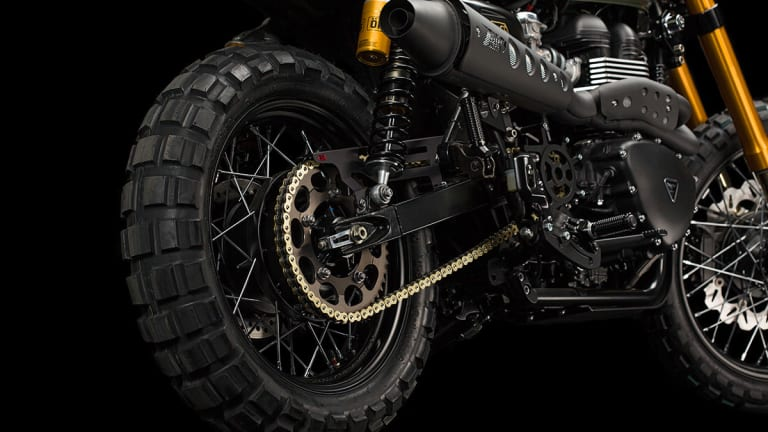 This Specially Made Triumph Scrambler Is A Beauty