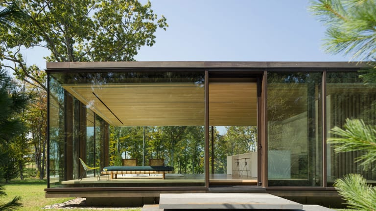 This Glass Box Home Is Flat-Out Brilliant