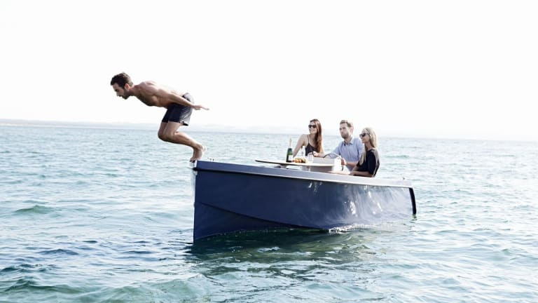 Upgrade Lunch Dates And Summer Weekends With This Low-Key Electric Boat