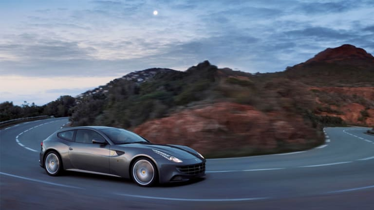 First Look At The Stunning Ferrari GTC4Lusso
