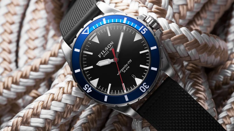 Stunning 1950s Inspired Dive Watch From Filson