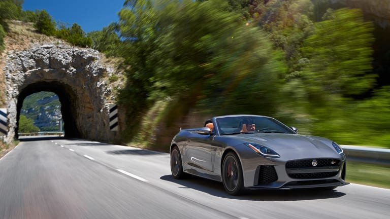 A Closer Look At The Stunning Jaguar F-TYPE SVR