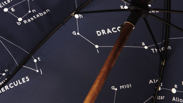 See The Stars With This Beautiful Constellation Umbrella From London Undercover