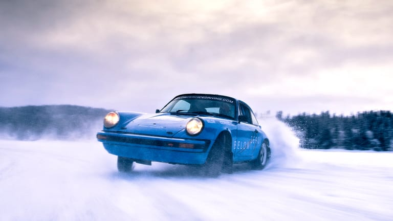 Drop Everything And Sign Up For This Ice Driving Adventure With Vintage Porsche 911s