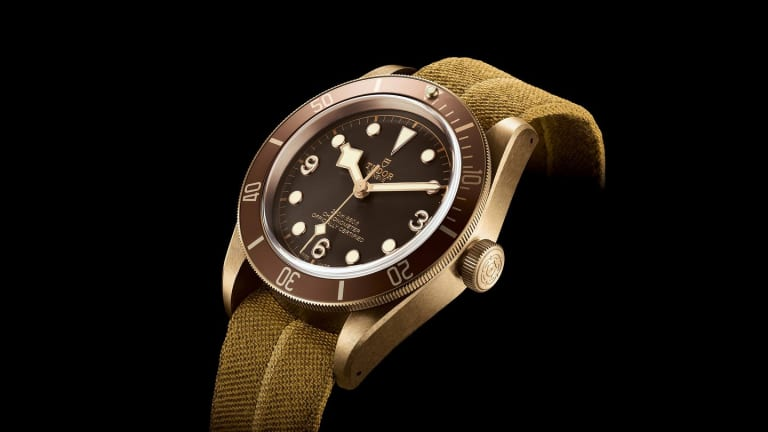 The Tudor Black Bay Bronze Will Make Your Jaw Drop