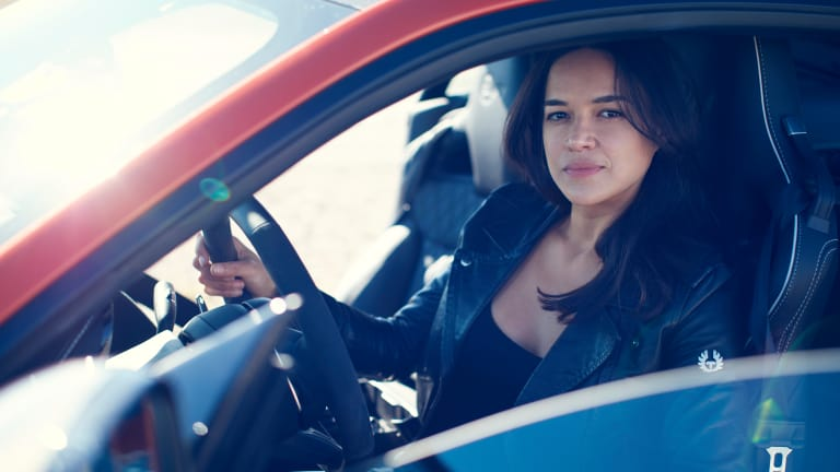 Watch Michelle Rodriguez Push The Jaguar F-TYPE SVR To The Limit