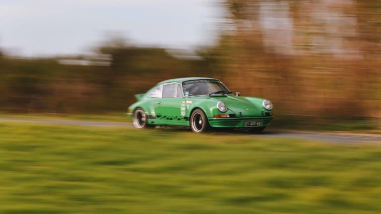 Car Porn: Viper Green 1973 2.8L Porsche 911 RSR