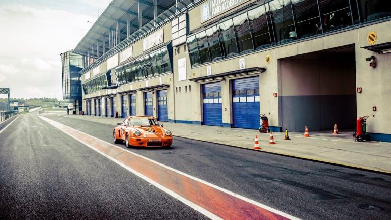 Car Porn: 1974 Jägermeister Porsche 911 Carrera RSR