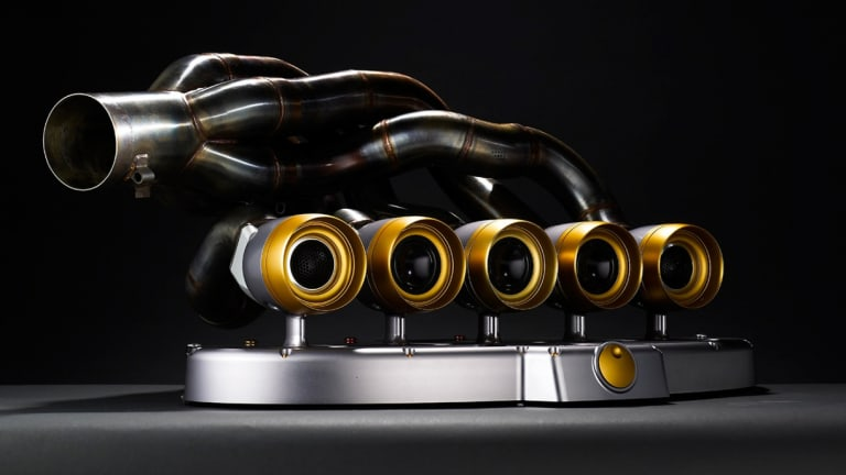 This Company Turns Formula 1 Exhausts Into Speakers
