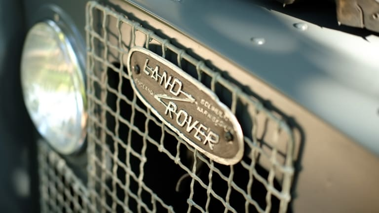 Car Porn: 1971 Land Rover Series II