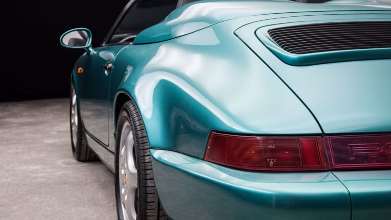 Car Porn: An Extremely Rare 1994 Porsche 911/964 Carrera