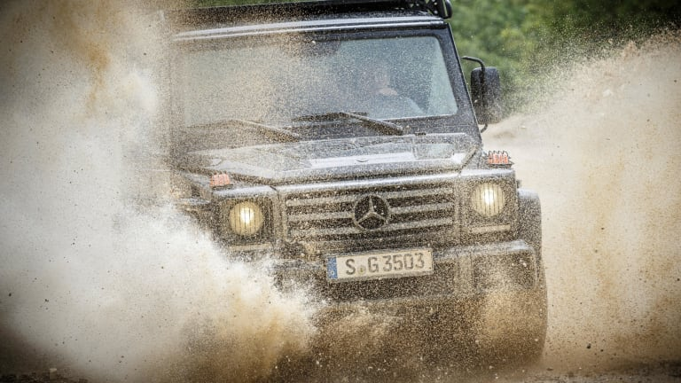 Mercedes-Benz Ditches Flash For Rugged Cool With Updated G-Wagen