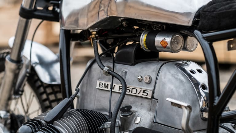This Minimal BMW Café Racer Is The Definition Of Stylish