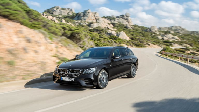 Feast Your Eyes On The Stunning Mercedes-Benz E400 Wagon