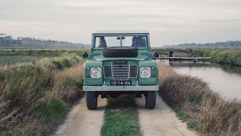 Beautiful Video of a Vintage Land Rover Series III Pick-Up