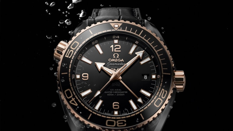 The Omega Deep Black Collection Is Flat-Out Gorgeous