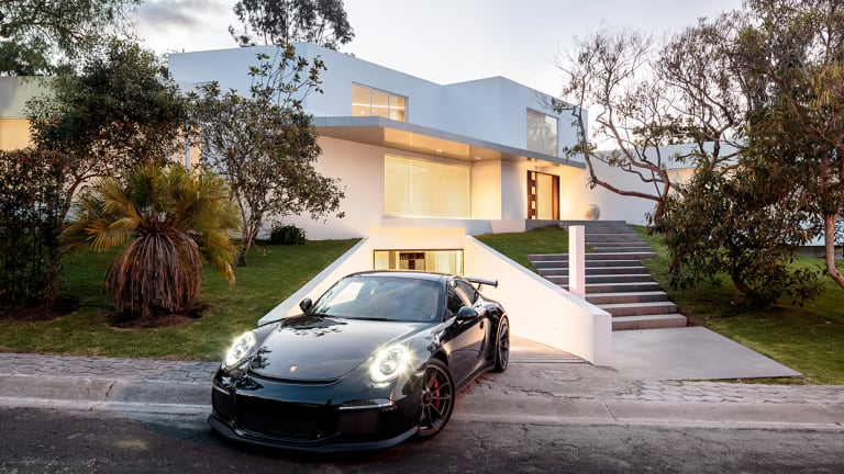 This Modern Pad Has a Drool-Worthy Underground Garage