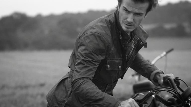 It's Impossible To Look Uncool In The New David Beckham For Belstaff Collection