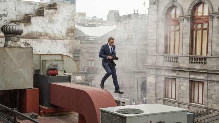 First James Bond 1-Minute TV Spot For 'Spectre' Is Fantastic