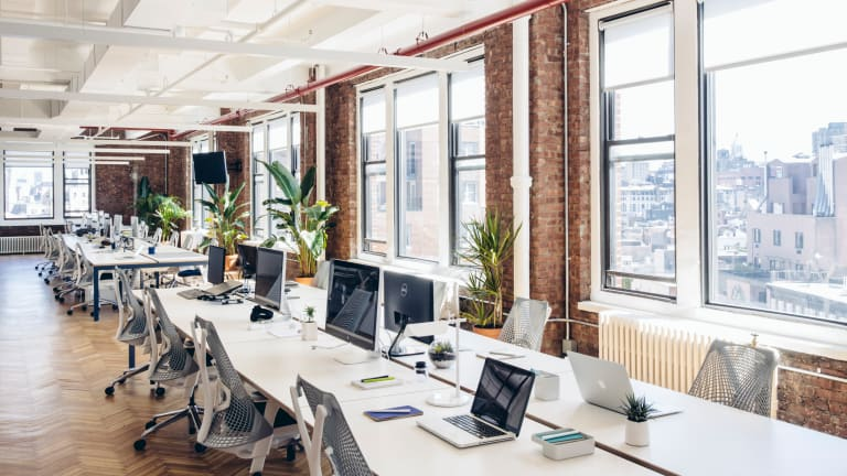 Inside Harry's Simple and Cool NYC Workspace