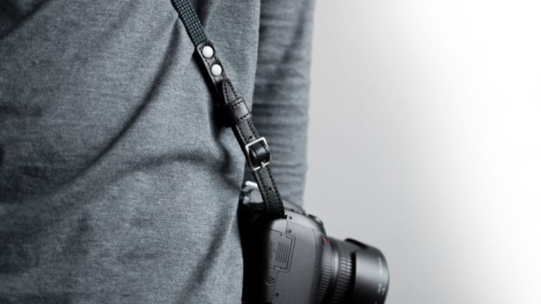Upgrade Any Camera With This Beautiful Leather Strap