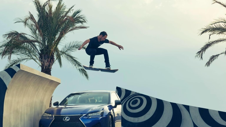 Here's Your First Look At The Lexus Hoverboard In Action