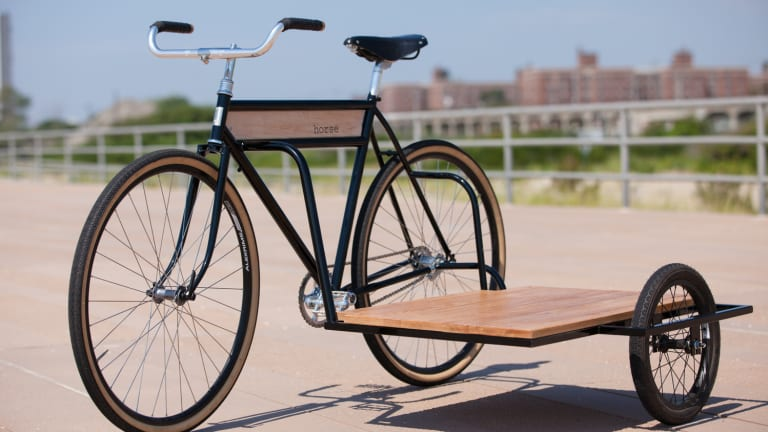 A Stylish And Cool Side Car Bicycle You'll Be Drooling Over