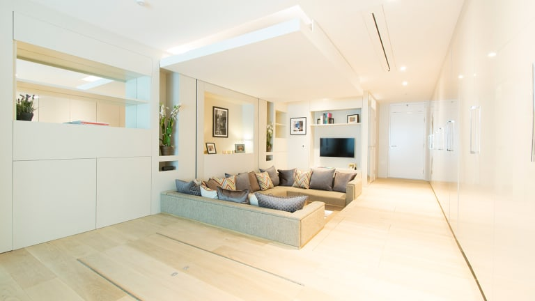 This Japanese-Inspired Convertible Apartment Makes A Small Space Feel Huge