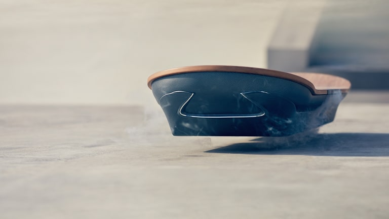 The Science Behind Lexus' Hoverboard