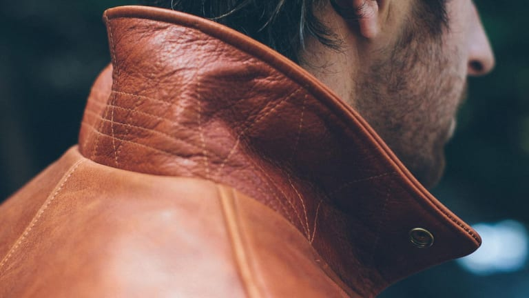 This Steerhide Leather Moto Jacket Will Make You Feel Bulletproof