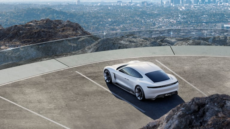 Porsche's Mission E Is A Tesla Crushing All-Electric Beast Of A Sports Car