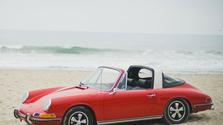 Car Porn: An Absolutely Perfect 1967 Porsche 911S Targa