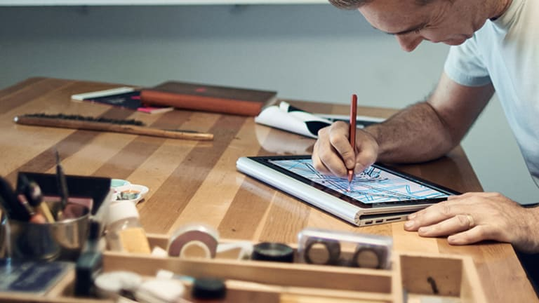 Microsoft's Surface Book Laptop Is Actually Incredibly...Cool?
