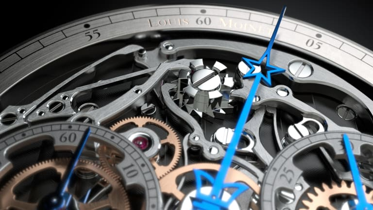 Louis Moinet Chronograph Memoris Is A Tour De Force Of Cool For Your Wrist