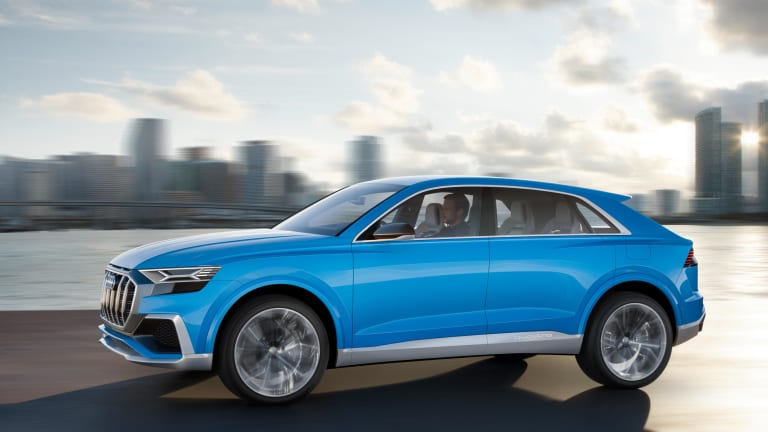 The Super-Luxury Audi Q8 Concept Is Far Sleeker Than Your Average SUV