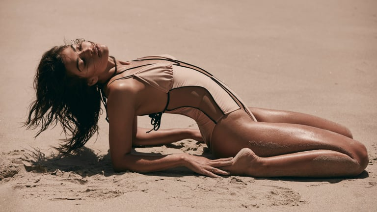 A Super Sexy Day at the Beach With Aussie Model Shanina Shaik