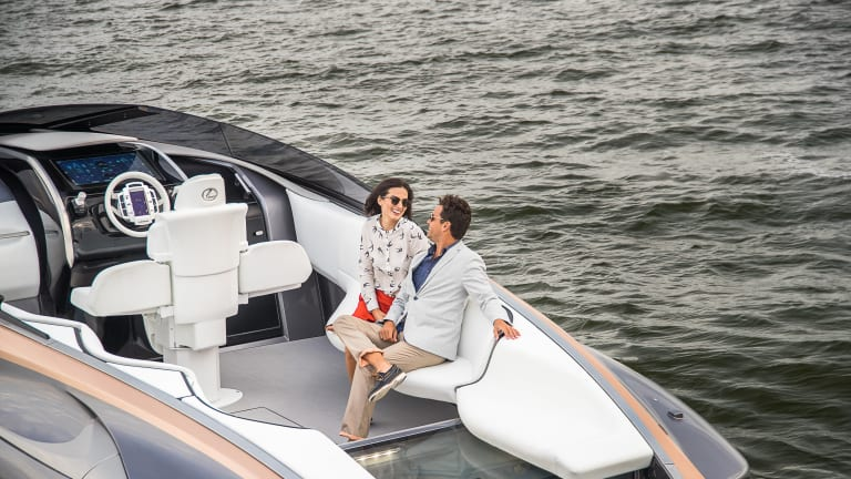 Lexus Debuts Absolutely Stunning Sport Yacht Concept
